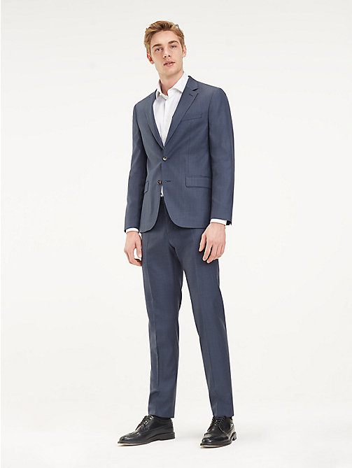 TOMMY HILFIGER Two Piece Virgin Wool Suit - 426 - TOMMY HILFIGER Suits - main image