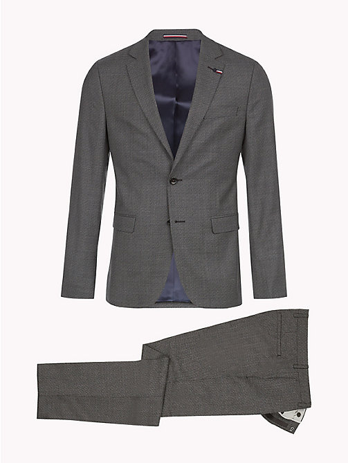 TOMMY HILFIGER Virgin Wool Slim Fit Suit - 026 - TOMMY HILFIGER Clothing - detail image 1