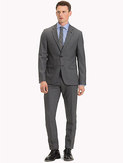 TOMMY HILFIGER Virgin Wool Slim Fit Suit - 026 - TOMMY HILFIGER Clothing - main image