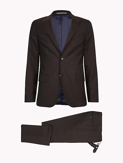 TOMMY HILFIGER Classic Virgin Wool Two-Piece Suit - 229 - TOMMY HILFIGER Fitted - detail image 1