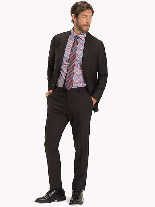 TOMMY HILFIGER Classic Virgin Wool Two-Piece Suit - 229 - TOMMY HILFIGER Fitted - main image