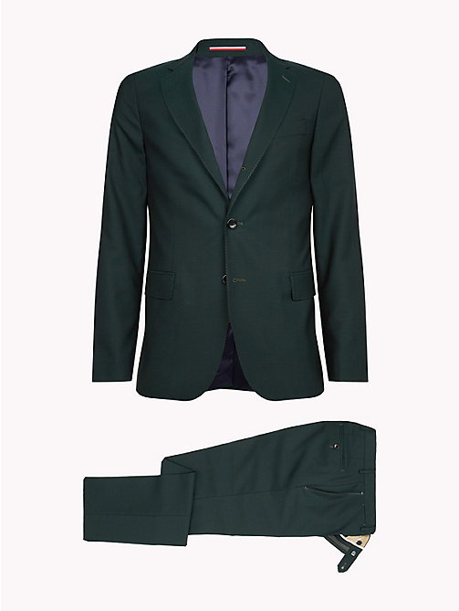 TOMMY HILFIGER Classic Virgin Wool Two-Piece Suit - 309 - TOMMY HILFIGER Fitted - detail image 1