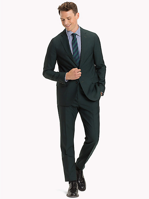 TOMMY HILFIGER Classic Virgin Wool Two-Piece Suit - 309 - TOMMY HILFIGER Fitted - main image