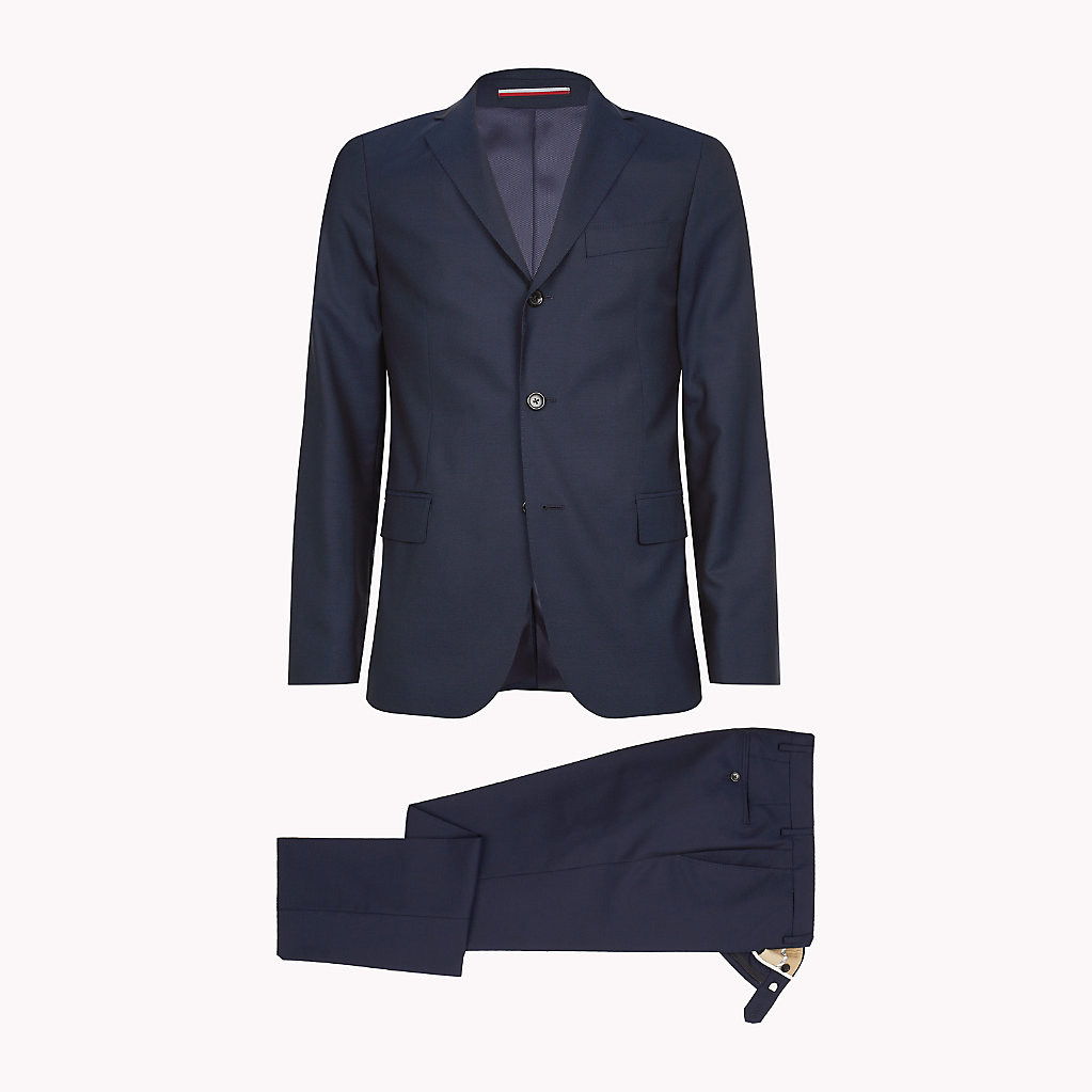Tommy Hilfiger - Classic Virgin Wool Two-Piece Suit - 2