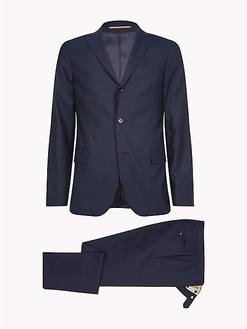 TOMMY HILFIGER Classic Virgin Wool Two-Piece Suit - 427 - TOMMY HILFIGER Fitted - detail image 1