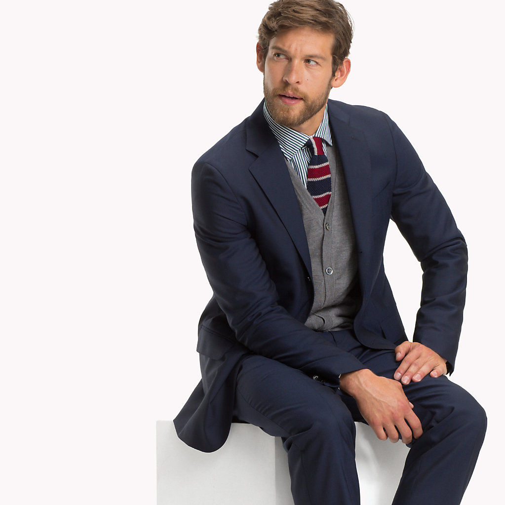 Tommy Hilfiger - Classic Virgin Wool Two-Piece Suit - 3