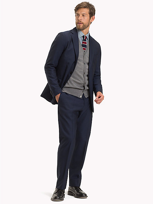 TOMMY HILFIGER Classic Virgin Wool Two-Piece Suit - 427 - TOMMY HILFIGER Fitted - main image