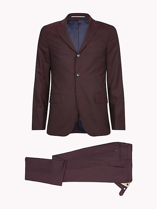 TOMMY HILFIGER Classic Virgin Wool Two-Piece Suit - 627 - TOMMY HILFIGER Suits & Tailored - detail image 1