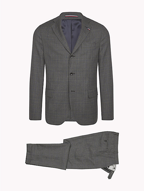 TOMMY HILFIGER Glen Check Two Piece Wool Suit - 027 - TOMMY HILFIGER Clothing - detail image 1