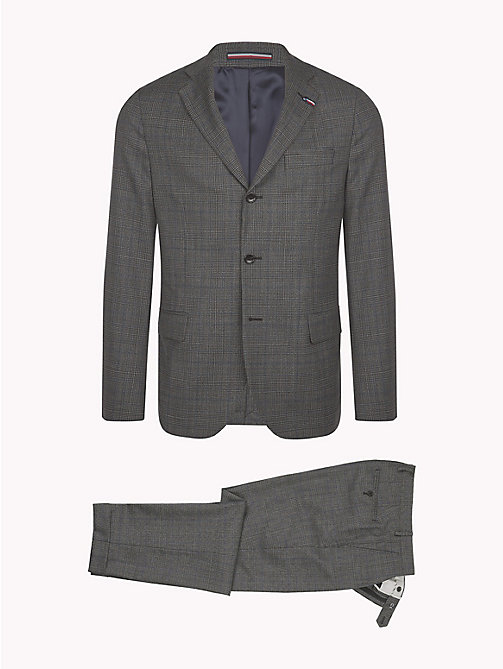 TOMMY HILFIGER Glen Check Two Piece Wool Suit - 027 - TOMMY HILFIGER Suits & Tailored - detail image 1