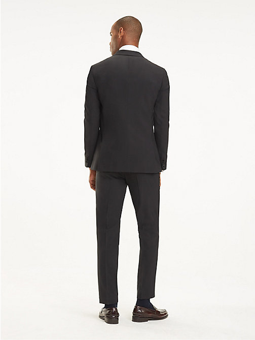 TOMMY HILFIGER Wool Blend Tuxedo Jacket - 099 - TOMMY HILFIGER Suits & Tailored - detail image 1