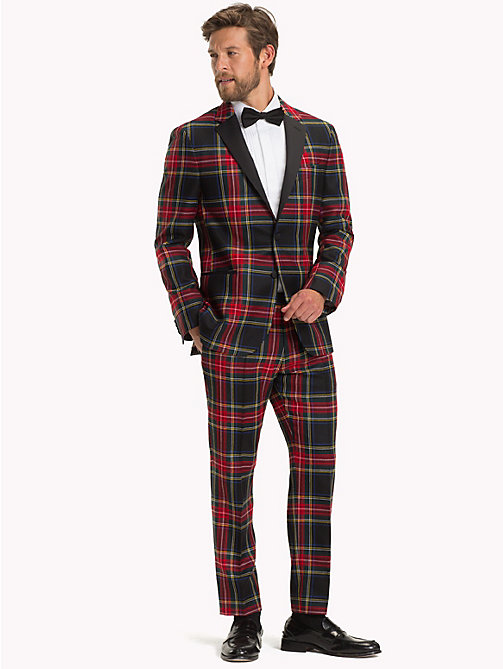 TOMMY HILFIGER Tartan Slim Fit Blazer - 099 - TOMMY HILFIGER Suits & Tailored - detail image 1