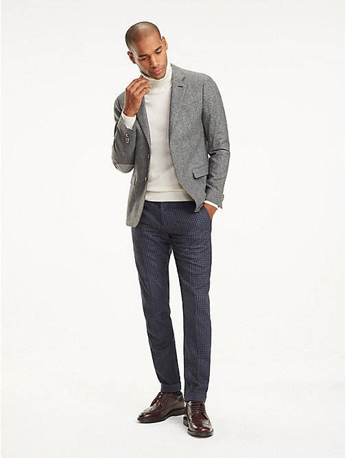 TOMMY HILFIGER Wool Blend Slim Fit Blazer - 020 - TOMMY HILFIGER Gifts for Him - detail image 1
