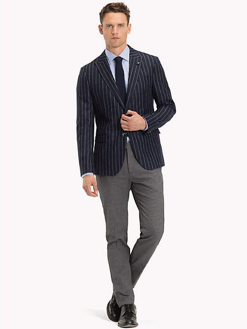 TOMMY HILFIGER Stripe Slim Fit Blazer - 427 - TOMMY HILFIGER Suits & Tailored - detail image 1