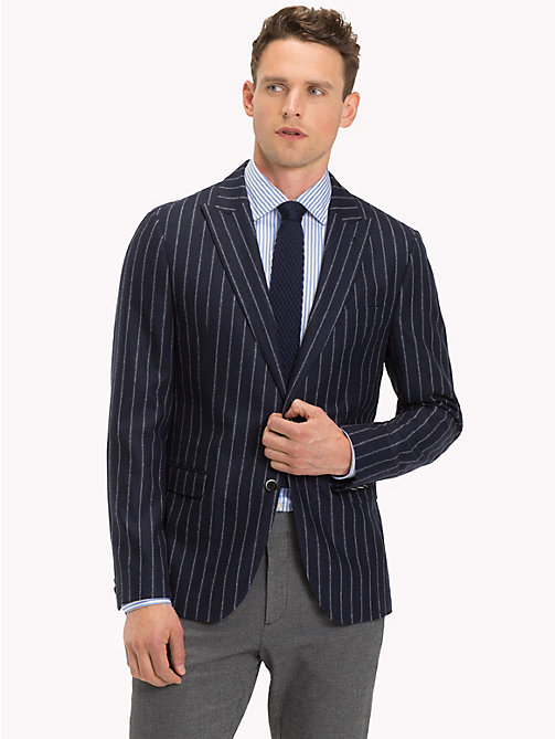 TOMMY HILFIGER Stripe Slim Fit Blazer - 427 - TOMMY HILFIGER Suits & Tailored - main image