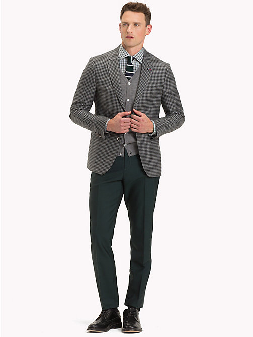 TOMMY HILFIGER Check Slim Fit Blazer - 019 - TOMMY HILFIGER Suits & Tailored - detail image 1