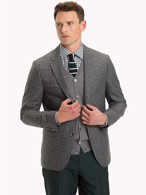 TOMMY HILFIGER Check Slim Fit Blazer - 019 - TOMMY HILFIGER Suits & Tailored - main image
