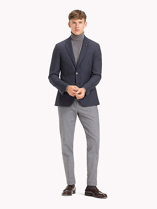 TOMMY HILFIGER Check Slim Fit Blazer - 425 - TOMMY HILFIGER Suits & Tailored - detail image 1