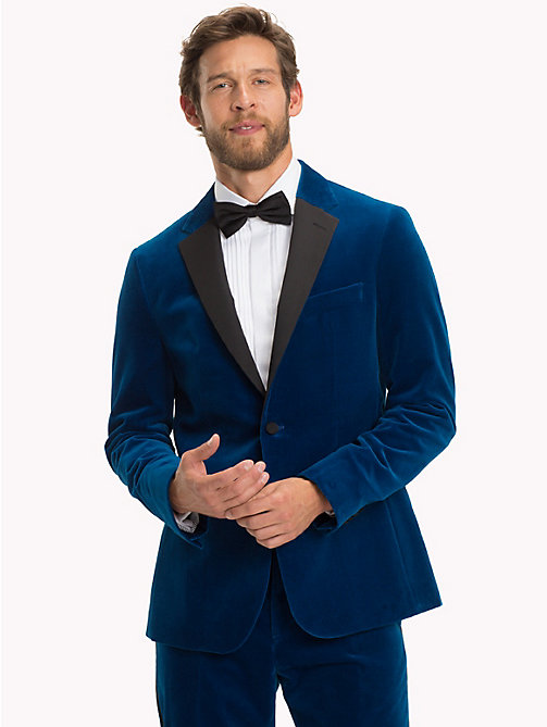 TOMMY HILFIGER Velvet Slim Fit Dinner Jacket - 405 - TOMMY HILFIGER Suits & Tailored - main image