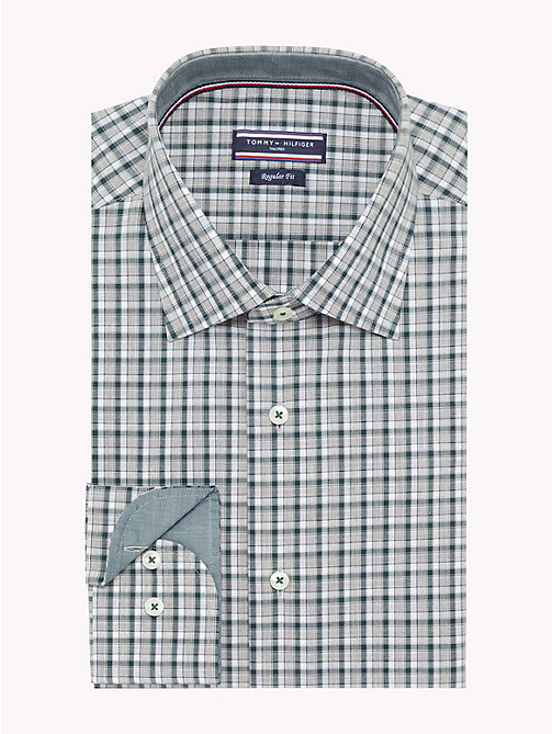 TOMMY HILFIGER Check Print Shirt - 307 - TOMMY HILFIGER Formal Shirts - main image