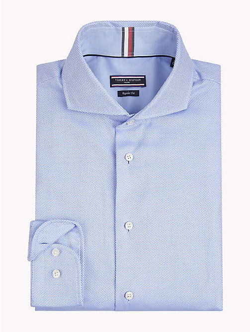 TOMMY HILFIGER Textured Regular Fit Shirt - 415 - TOMMY HILFIGER Formal Shirts - main image