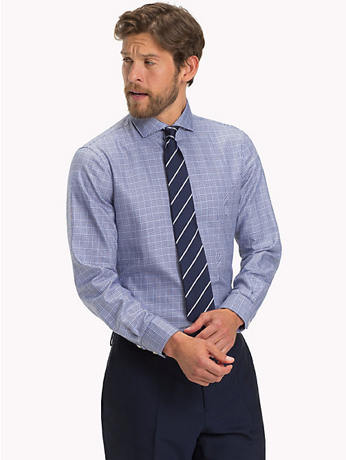 TOMMY HILFIGER Check Slim Fit Shirt - 420 - TOMMY HILFIGER Formal Shirts - detail image 1