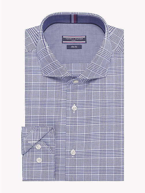 TOMMY HILFIGER Check Slim Fit Shirt - 420 - TOMMY HILFIGER Formal Shirts - main image