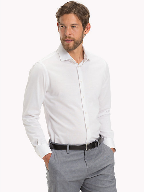TOMMY HILFIGER Classic Slim Fit Shirt - 100 - TOMMY HILFIGER Formal Shirts - detail image 1