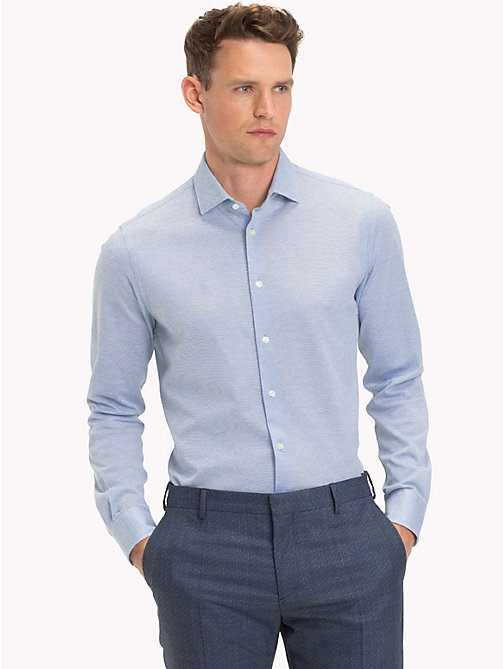 TOMMY HILFIGER Classic Slim Fit Shirt - 415 - TOMMY HILFIGER Formal Shirts - detail image 1