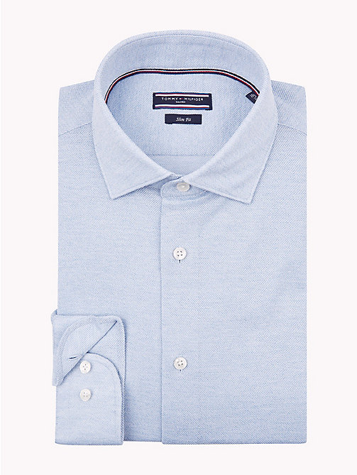 TOMMY HILFIGER Classic Slim Fit Shirt - 415 - TOMMY HILFIGER Formal Shirts - main image