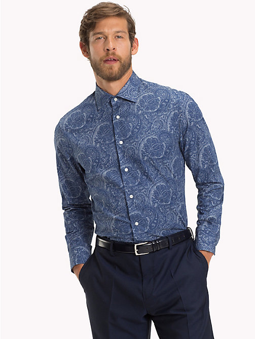 TOMMY HILFIGER Paisley Print Shirt - 424 - TOMMY HILFIGER Formal Shirts - detail image 1