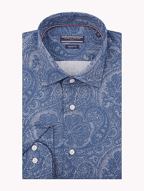 TOMMY HILFIGER Paisley Print Shirt - 424 - TOMMY HILFIGER Formal Shirts - main image