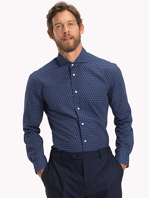 TOMMY HILFIGER Dot Print Shirt - 425 - TOMMY HILFIGER Formal Shirts - detail image 1