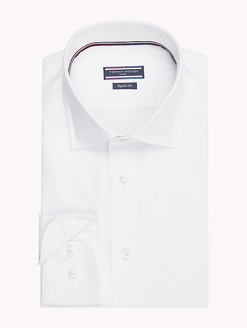 TOMMY HILFIGER Classic Dobby Shirt - 100 - TOMMY HILFIGER Formal Shirts - main image