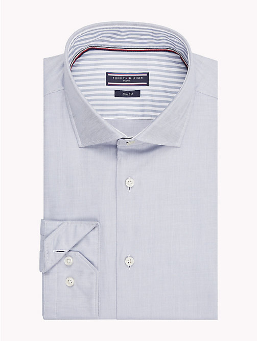 TOMMY HILFIGER Twill Slim Fit Shirt - 020 - TOMMY HILFIGER Formal Shirts - main image