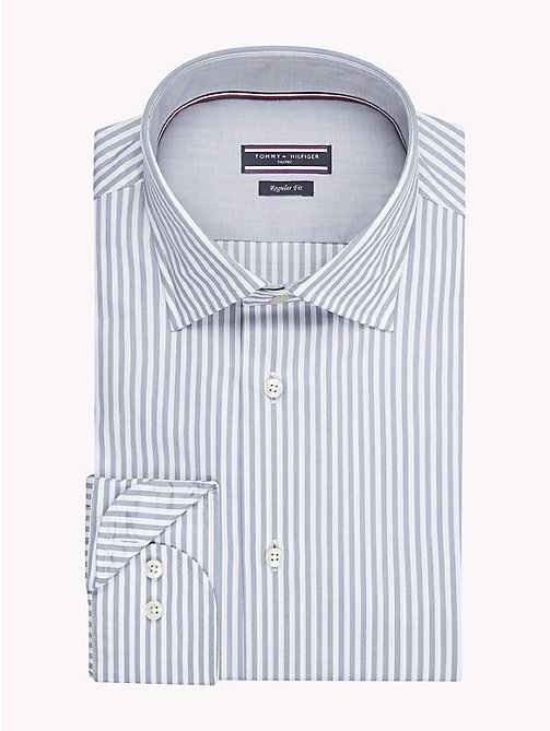 TOMMY HILFIGER Stripe Classic Shirt - 020 - TOMMY HILFIGER Formal Shirts - main image