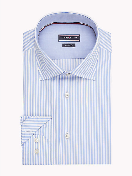 TOMMY HILFIGER Stripe Classic Shirt - 410 - TOMMY HILFIGER NEW IN - main image
