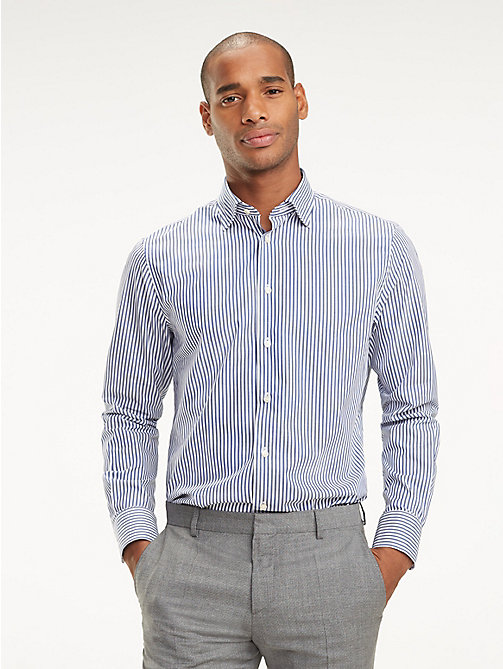 TOMMY HILFIGER Stripe Classic Shirt - 420 - TOMMY HILFIGER Formal Shirts - detail image 1