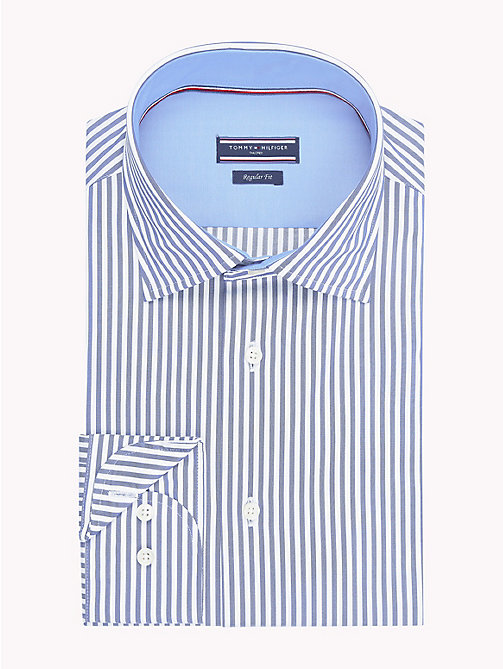 TOMMY HILFIGER Stripe Classic Shirt - 420 - TOMMY HILFIGER Formal Shirts - main image