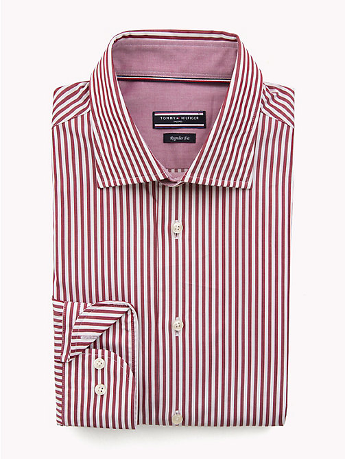 TOMMY HILFIGER Stripe Classic Shirt - 620 - TOMMY HILFIGER Formal Shirts - main image