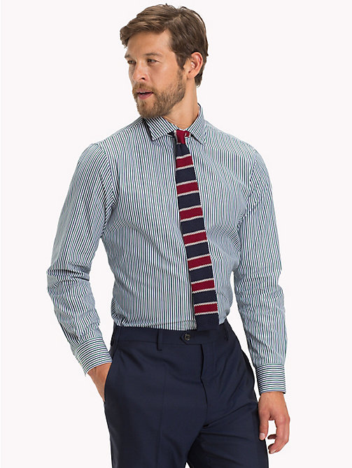 TOMMY HILFIGER Stripe Regular Fit Shirt - 300 - TOMMY HILFIGER Formal Shirts - detail image 1