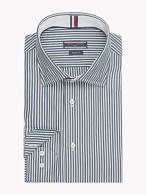 TOMMY HILFIGER Stripe Regular Fit Shirt - 300 - TOMMY HILFIGER Formal Shirts - main image