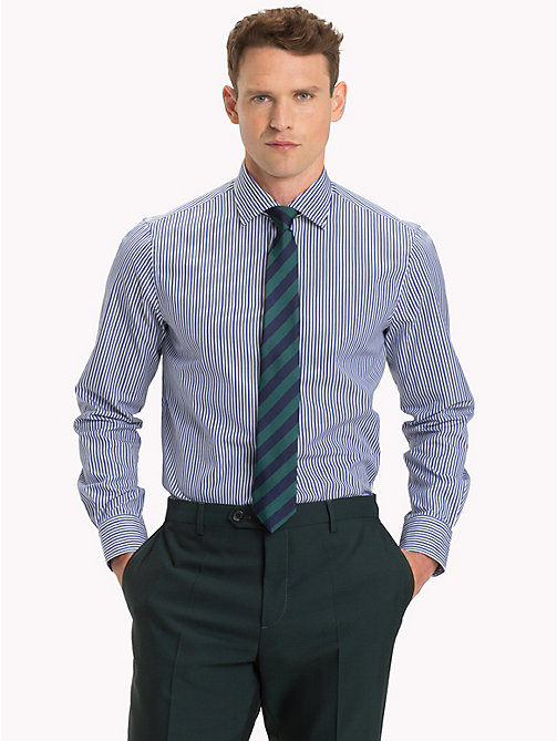 TOMMY HILFIGER Gestreiftes Regular Fit Hemd - 400 - TOMMY HILFIGER Businesshemden - main image 1