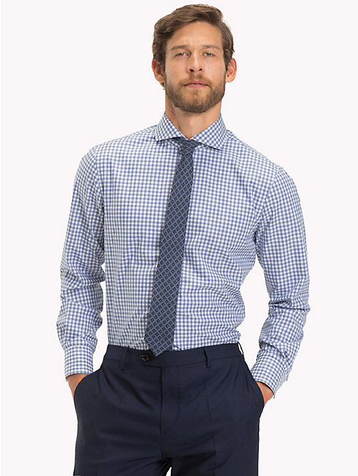 TOMMY HILFIGER Gingham Check Pure Cotton Shirt - 415 - TOMMY HILFIGER Formal Shirts - detail image 1