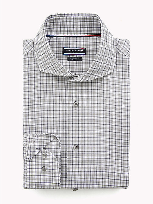 TOMMY HILFIGER Classic Check Shirt - 010 - TOMMY HILFIGER Formal Shirts - main image