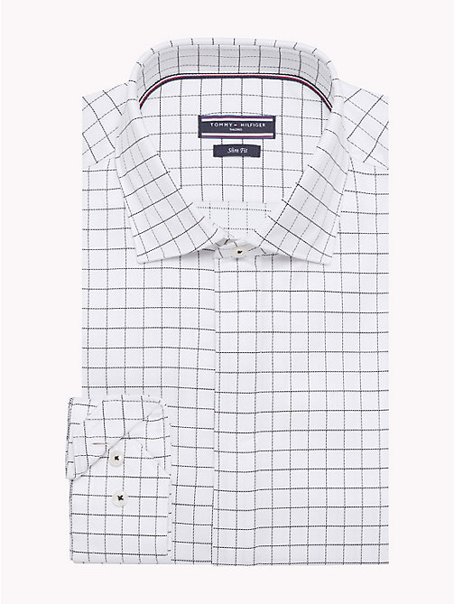 TOMMY HILFIGER Twill Check Shirt - 100 - TOMMY HILFIGER Shirts - main image