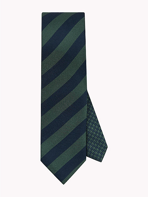 TOMMY HILFIGER Classic Wide Stripe Silk Tie - 307 - TOMMY HILFIGER Bags & Accessories - main image