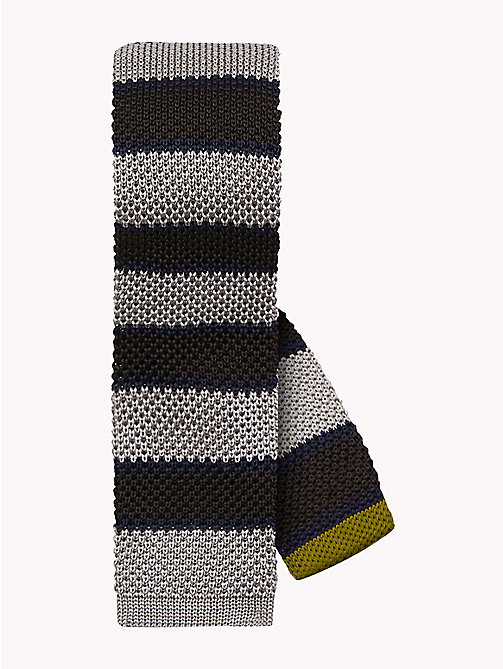 TOMMY HILFIGER Knitted Silk Stripe Tie - 200 - TOMMY HILFIGER Ties & Pocket Squares - main image