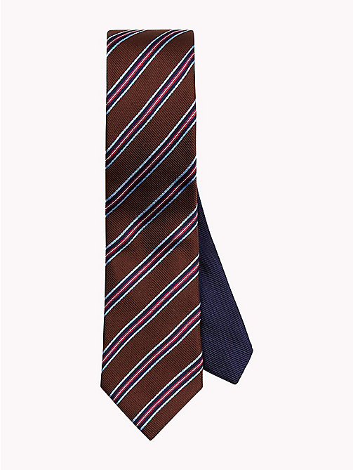 Stripe Silk Tie - 215 - TOMMY HILFIGER Ties & Pocket Squares - main image