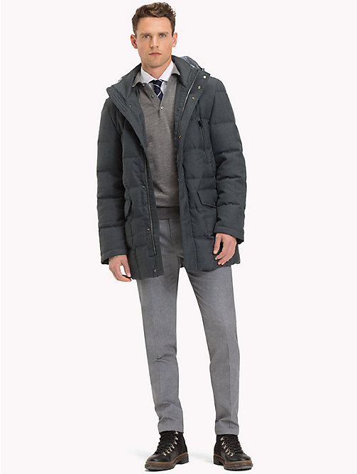 TOMMY HILFIGER Hooded Padded Coat - 011 - TOMMY HILFIGER Suits & Tailored - detail image 1